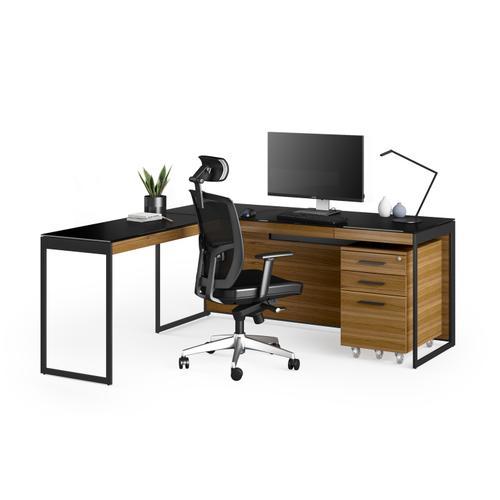 BDI Furniture - Sequel 20 6112 Return in Natural Walnut Black