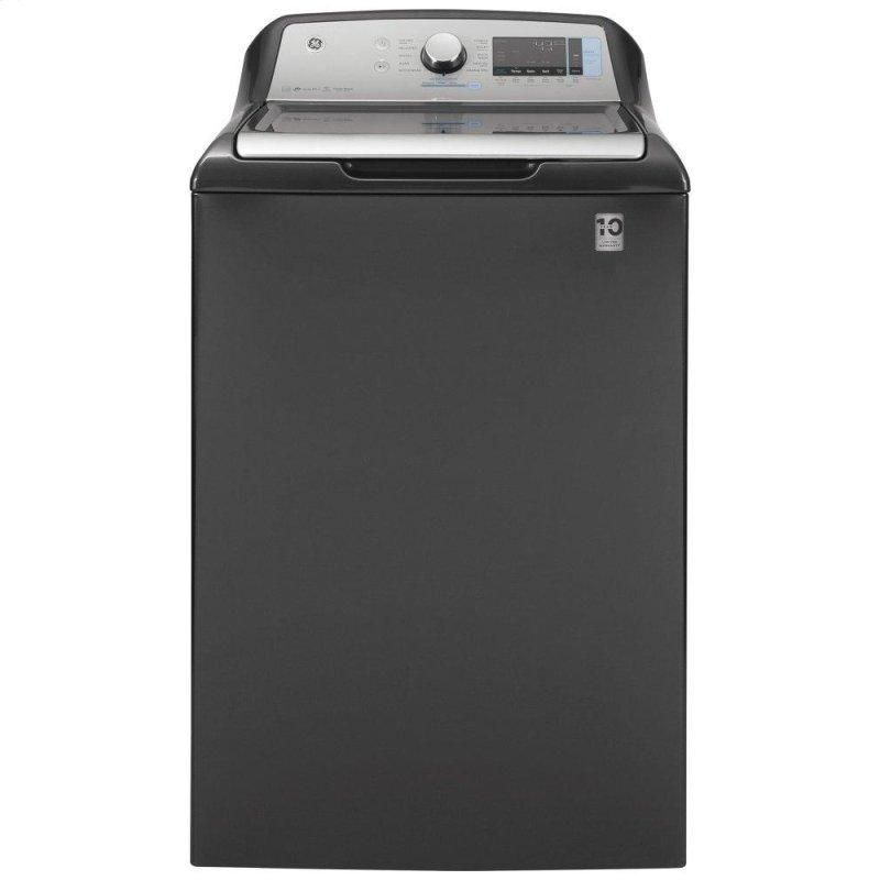GE(R) 5.0 cu. ft. Capacity Smart Washer with Sanitize w/Oxi and SmartDispense