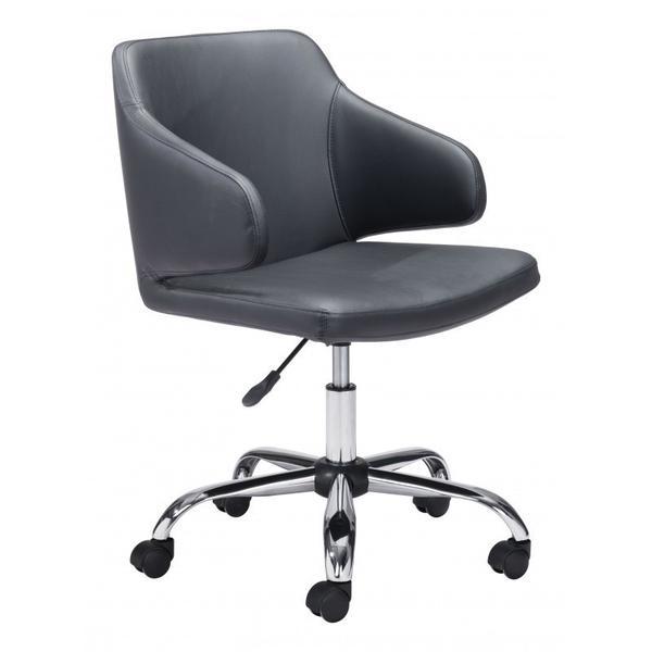 See Details - Designer Office Chair Black