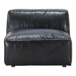 Luxe Slipper Chair Antique Black