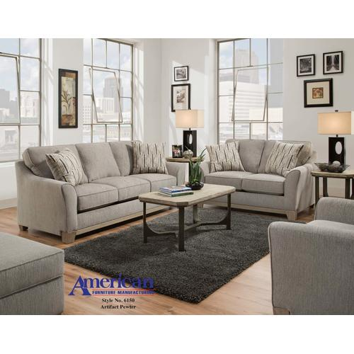 6160 - Artifact Pewter Sofa