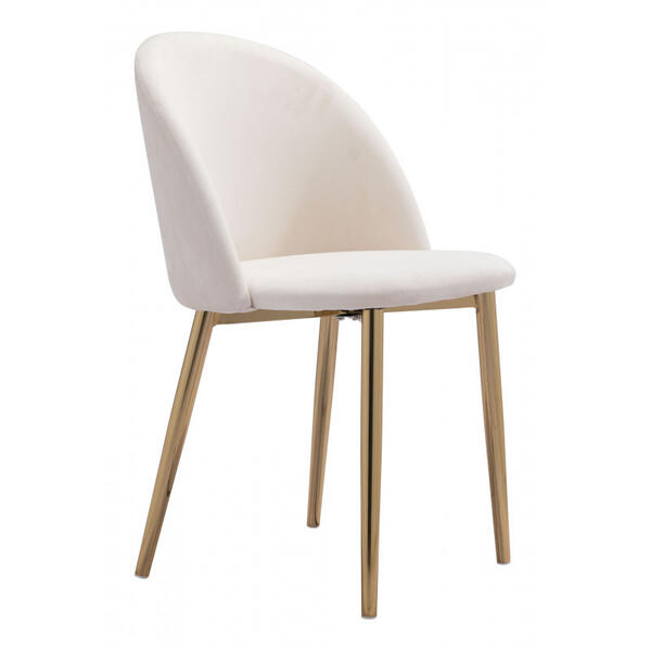 Cozy Dining Chair Cream