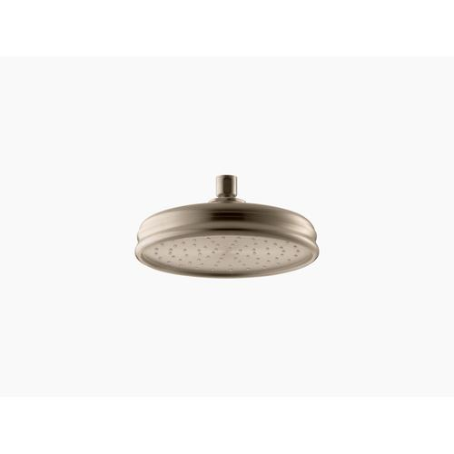 """Vibrant Brushed Bronze 8"""" Rainhead With Katalyst Air-induction Technology, 1.75 Gpm"""