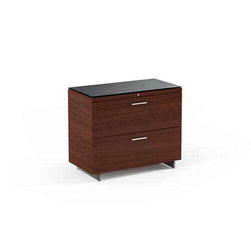 Lateral File Cabinet 6016 in Chocolate Stained Walnut