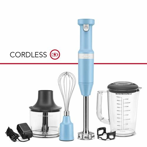 KitchenAid Canada - Variable Speed Cordless Hand Blender - Blue Velvet