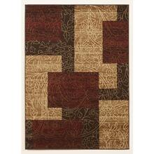 Medium Rug Rosemont - Red Collection Ashley at Aztec Distribution Center Houston Texas