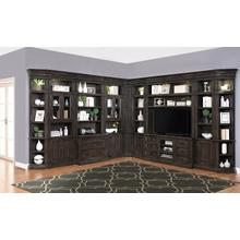 View Product - WASHINGTON HEIGHTS 12pc Entertainment Library Wall