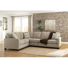 Alenya III Sectional Quartz Left