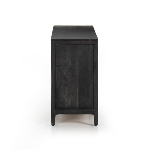 Black Wash Finish Sydney 6 Drawer Dresser