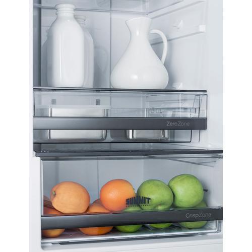 "24"" Wide Bottom Freezer Refrigerator"