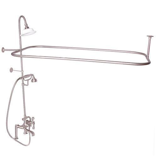 Code Rectangular Shower Unit - Lever / Brushed Nickel