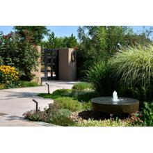 Natural Millstone Fountain - Stone Forest 30 Inch