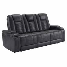 See Details - MEGATRON - TINSMITH Power Drop Down Console Sofa