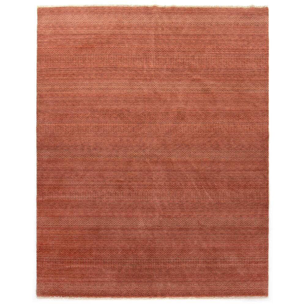 8'x10' Size Rust Finish Alessia Rug