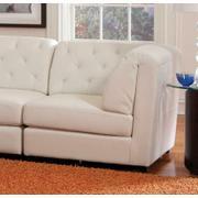 Quinn Transitional White Corner Product Image