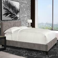 View Product - JODY - CORNFLOWER King Bed 6/6 (Grey)
