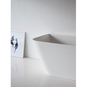 Patinato Petite Back-to-wall Bathtub