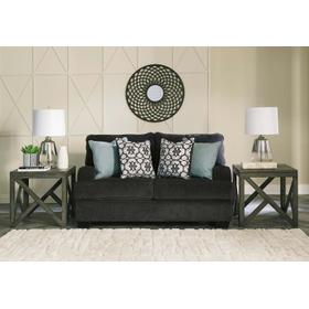 See Details - Charenton Loveseat Charcoal