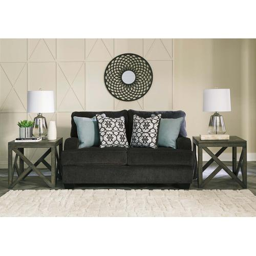 Charenton Loveseat Charcoal