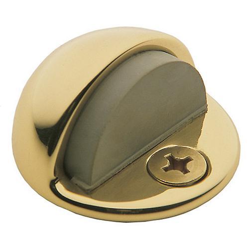 Baldwin - Polished Brass Half Dome Door Bumper