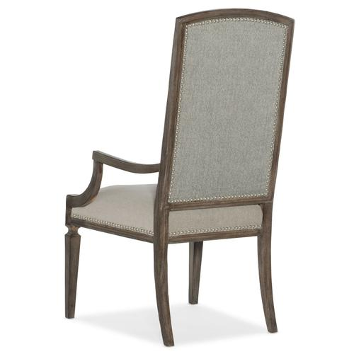 Dining Room Woodlands Arched Upholstered Arm Chair - 2 per carton/price ea