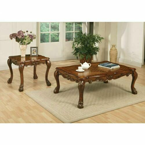 ACME Dresden Coffee Table - 12165 - Cherry Oak