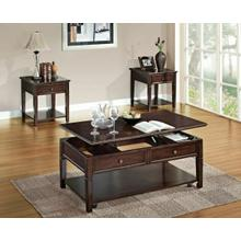 ACME Malachi Coffee Table w/Lift Top - 80254 - Walnut