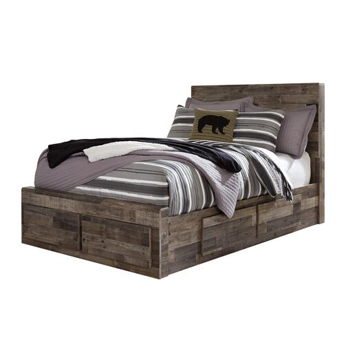 Derekson Full Storage Bed Multi