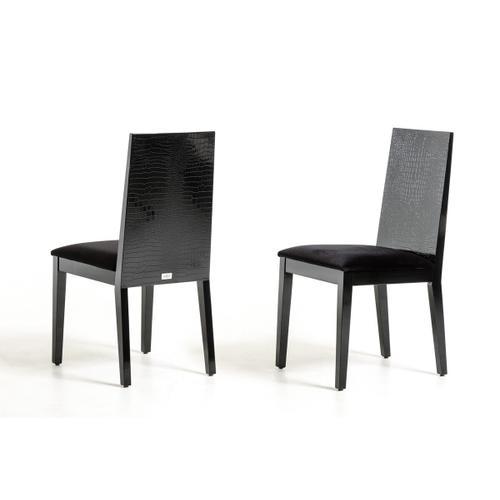 Gallery - Bridget - Black Dining Chair (Set of 2)