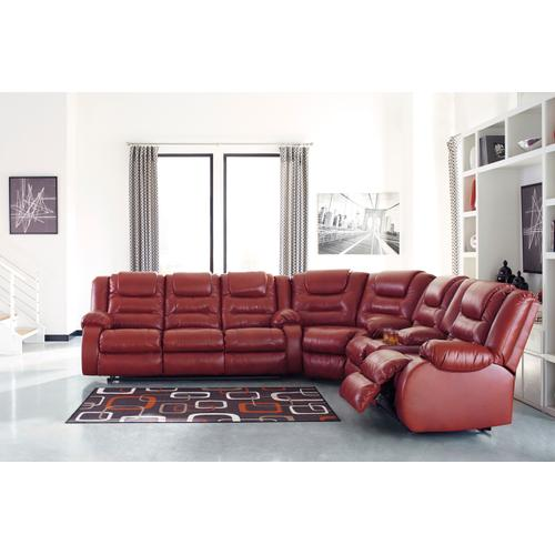 Signature Design By Ashley - 3 Piece Reclining Sectional