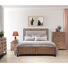 See Details - Cal King Panel Bed