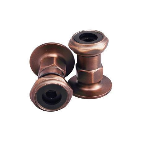 """2"""" Wall Mount Coupler - Oil Rubbed Bronze"""