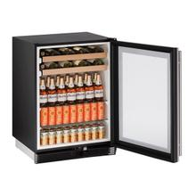 "1024bev 24"" Beverage Center With Stainless Frame Finish (115 V/60 Hz Volts /60 Hz Hz)"