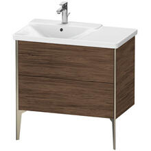 Vanity Unit Floorstanding, Walnut Dark (decor)