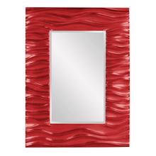 View Product - Zenith Mirror - Glossy Red