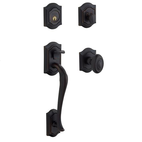 Baldwin - Oil-Rubbed Bronze Bethpage Sectional Trim