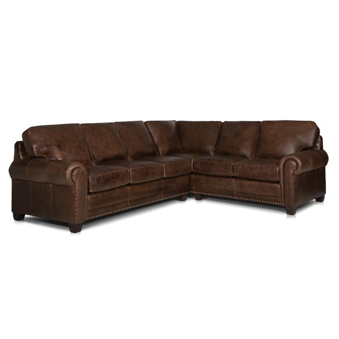 Smith Brothers Furniture - Leather Sectional