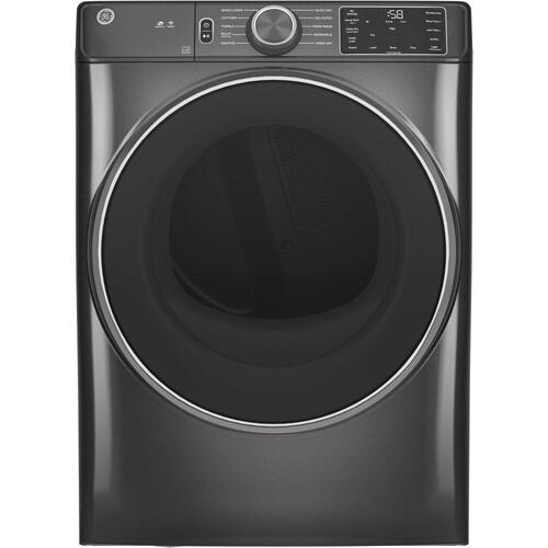 GE Appliances - GE® 7.8 cu. ft. Capacity Smart Front Load Electric Dryer with Sanitize Cycle