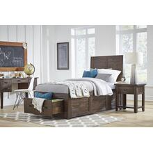 Jackson Lodge Twin Storage Bed