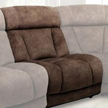 See Details - TITUS - HUDSON BROWN Armless Chair