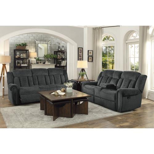 Product Image - Nutmeg Motion Sofa and Love Seat