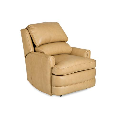 Hancock and Moore - 3707-PRB ATHENS SWIVEL GLIDER POWER WALL-HUGGER W/BATTERY