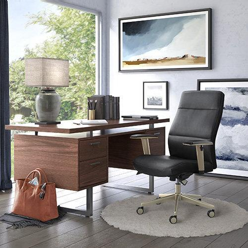 Gallery - Baylor Executive Office Chair, Black