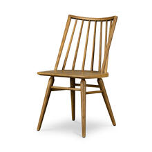 Sandy Oak Finish Lewis Windsor Chair
