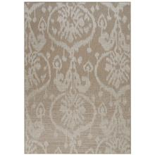 Thailand-Sunburst Khaki Machine Woven Rugs