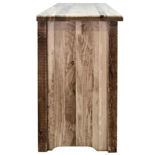 Montana Woodworks - Homestead Collection Television Stand, Stain and Lacquer Finish