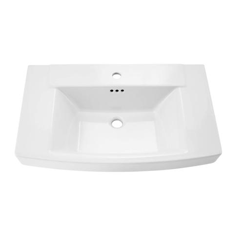 Townsend Pedestal Sink Top - Center Hole Only  American Standard - White