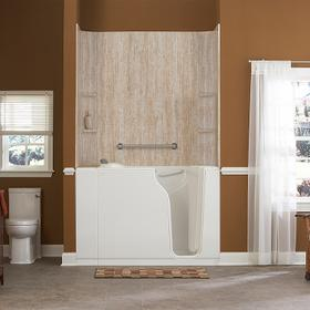 Gelcoat Premium Series 30x52-inch Soaking Walk-In Bathtub  American Standard - White