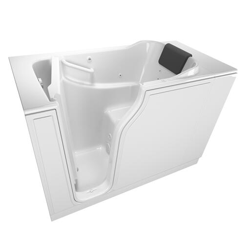 Gelcoat Premium Series 30x52-inch Walk-In Bathtub with Whirlpool Massage System  American Standard - White