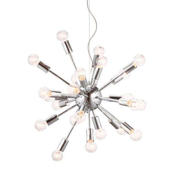 Pulsar Ceiling Lamp Chrome